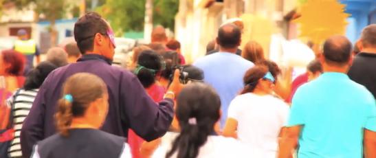 Ponto de Cultura É de Lei - Filmagem no Caps Cidade Ademar / Fev. 2014