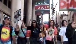 É de Lei na manifestação da Rede Verde, em 2005